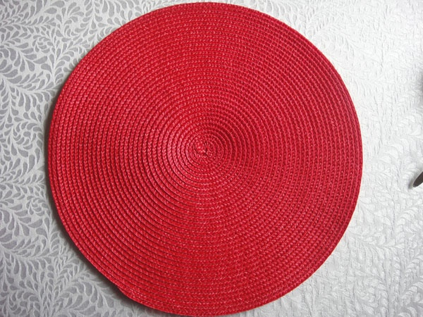 PP ROUND PLACEMAT