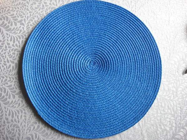 PP ROUND PLACEMAT PPR-0004