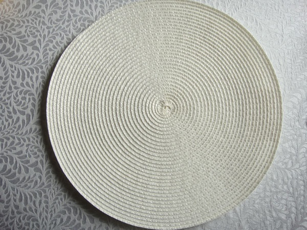 PP ROUND PLACEMAT PPR-0012