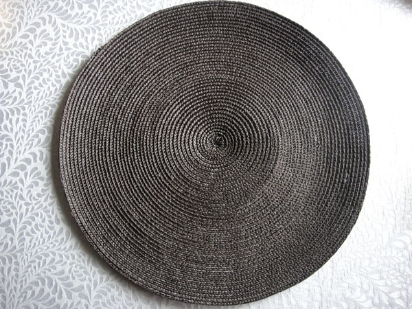 PP ROUND PLACEMAT PPR-0002