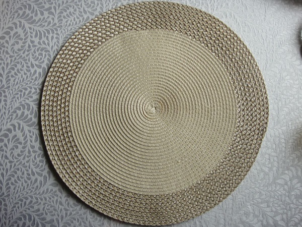 PP ROUND PLACEMAT PPR-0011