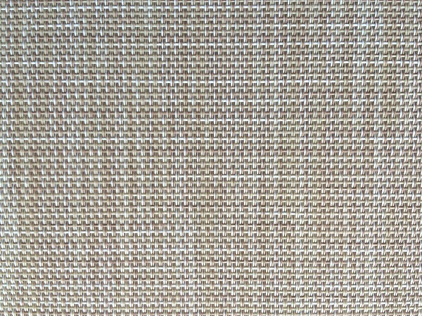 Beige Color PVC  Mesh Fabric