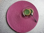 PP ROUND PLACE MAT PPR-0013