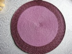 PP ROUND PLACEMAT PPR-0010